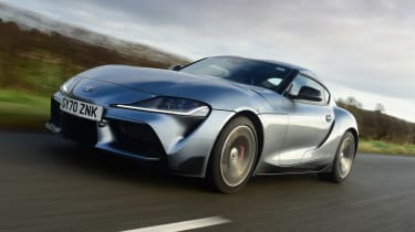 Toyota Supra - front tracking