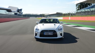Nissan GT-R - track full front