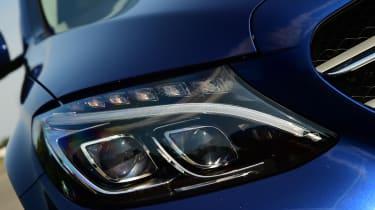 Mercedes C 350e plug-in hybrid - headlight