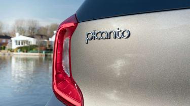 Kia Picanto X-Line - Picanto badge