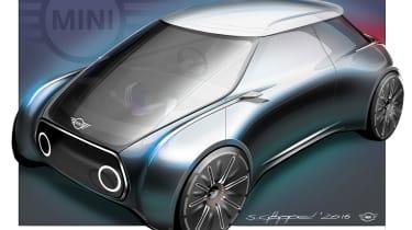 MINI Vision Next 100 concept - sketch front