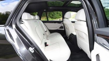 BMW 5 Series Touring - rear seats