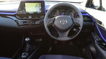 Used Toyota C-HR - dash