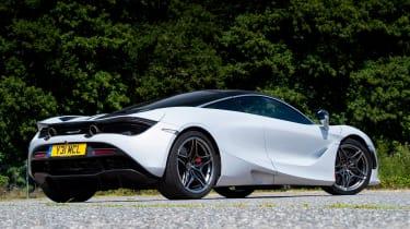 McLaren 720S - rear static
