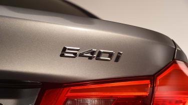 BMW 5 Series - studio rear lights