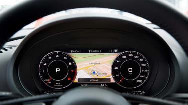 Audi A3 Sportback - dials/sat-nav
