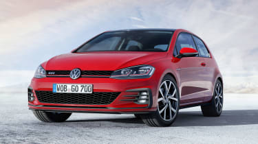 New 2017 Volkswagen Golf GTI - front static