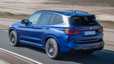 BMW X3 M - rear