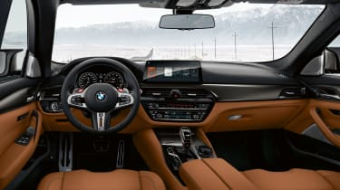 BMW M5 Competition Pack - interior
