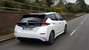 Nissan Leaf - rear action