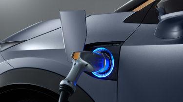 Nissan Ariya concept plug