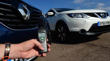 Nissan Qashqai vs Renault Kadjar noise