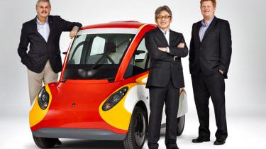 Shell Gordon Murray car bosses