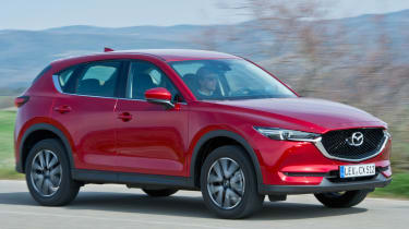 Mazda CX-5 2017 - manual Tuscany side tracking