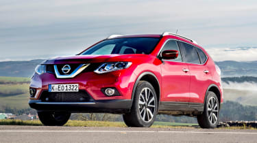 Nissan X-Trail 2.0 diesel - front static