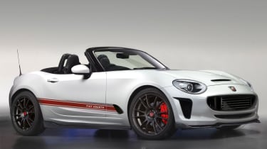Abarth 124 Spider EXCLUSIVE IMAGE
