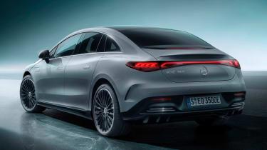 Mercedes EQE - rear studio