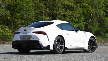 Toyota Supra - rear static