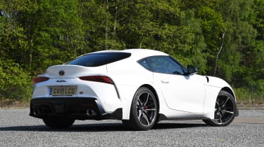 Toyota Supra - rear static