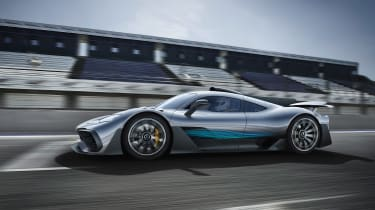 Mercedes-AMG Project ONE - side