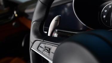 Long-term test review: Alfa Romeo Giulia Veloce - steering wheel