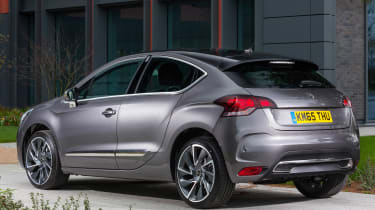 New DS 4 diesel UK drive static rear