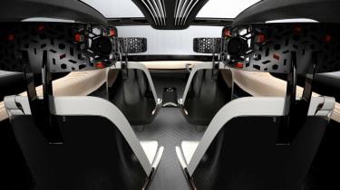 Nissan IMx concept - rear view