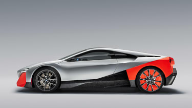 BMW Vision M NEXT concept - studio side