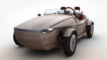 Toyota Setsuma wooden car concept