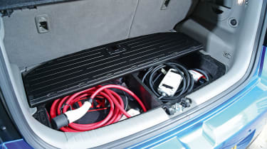 Kia Soul EV - boot charging wires