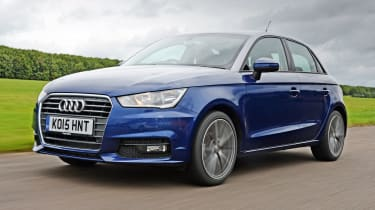 Audi A1 Sportback - front tracking