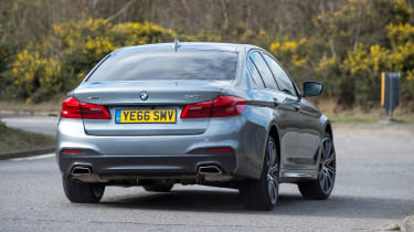 BMW 5 Series 2017 - 540i rear cornering