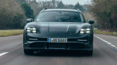 Porsche Taycan Cross Turismo prototype - full front