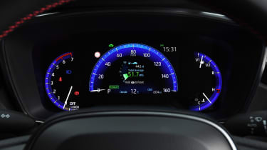Toyota Corolla GR Sport - dials
