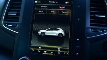 Renault Megane RS - drive modes