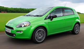 Fiat Punto TwinAir front tracking