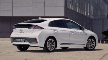 Hyundai Ioniq Electric - rear static
