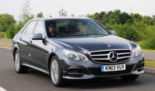 Mercedes E-Class front tracking