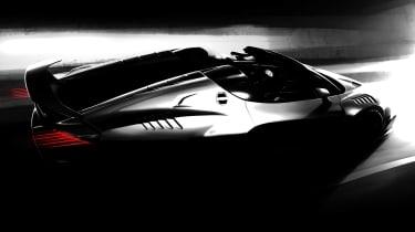 Italdesign Zerouno Duerta convertible - teaser