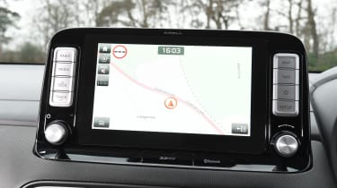 Hyundai Kona Electric dash screen