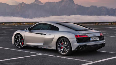 Audi R8 RWD Coupe - side/rear