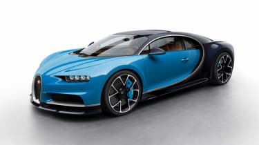 Bugatti Chiron - blue/black