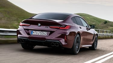 BMW M8 Gran Coupe - rear action