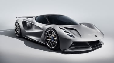 All-electric. British. Hypercar. Sounds good to us... With a target power output of 2,000PS and 0-62mph in under 3 seconds, all it needs is a decent range. Well, Lotus has that covered, too, with a claimed 250 miles.