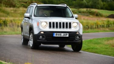 Used Jeep Renegade - front cornering