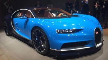 Bugatti Chiron Geneva 2016 - front