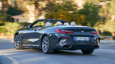 BMW 8 Series Convertible - rear cornering