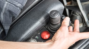 Disability driving feature - controls