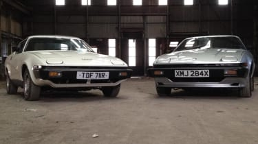 Triumph TR7 twin