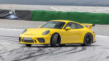 Porsche 911 GT3 - front drifting